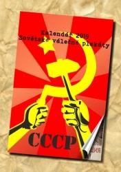 kalendář 2019 plakáty SSSR