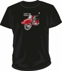 Tričko Jawa 350 sidecar, velikost S