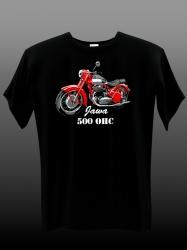 Tričko Jawa 500 OHC , velikost S