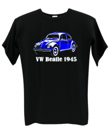 VW beatle blue