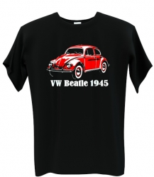 VW beatle red
