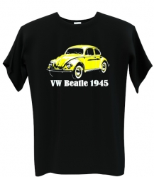 VW beatle yellow