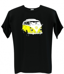 Volkswagen transporter yellow