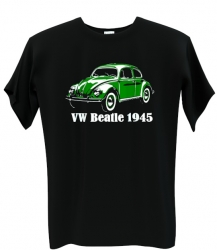 VW beatle green